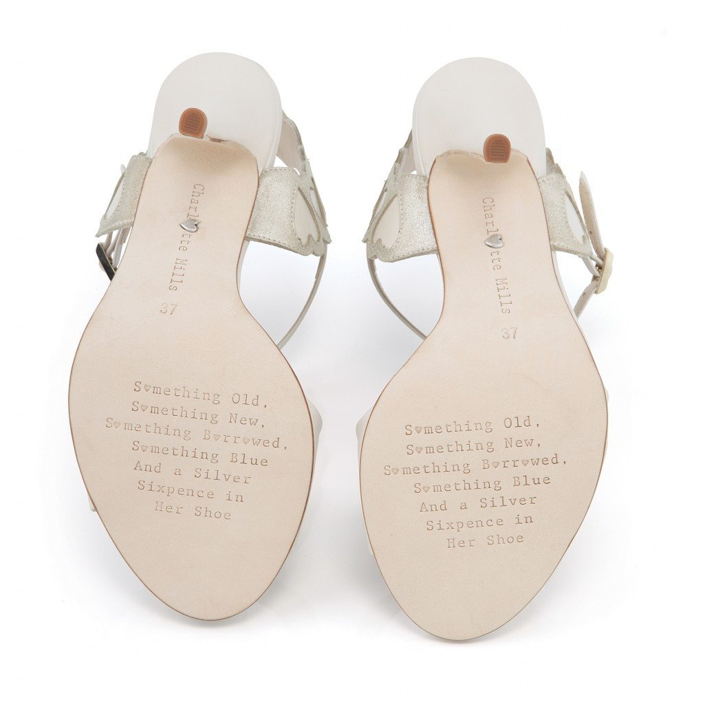 Charlotte Mills - Betty - Leather Wedding Shoes