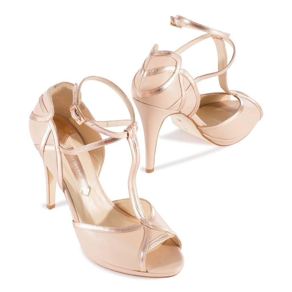 b2908bdc8e9 ... Charlotte Mills Australia - Chloe Rose - Wedding Shoes ...