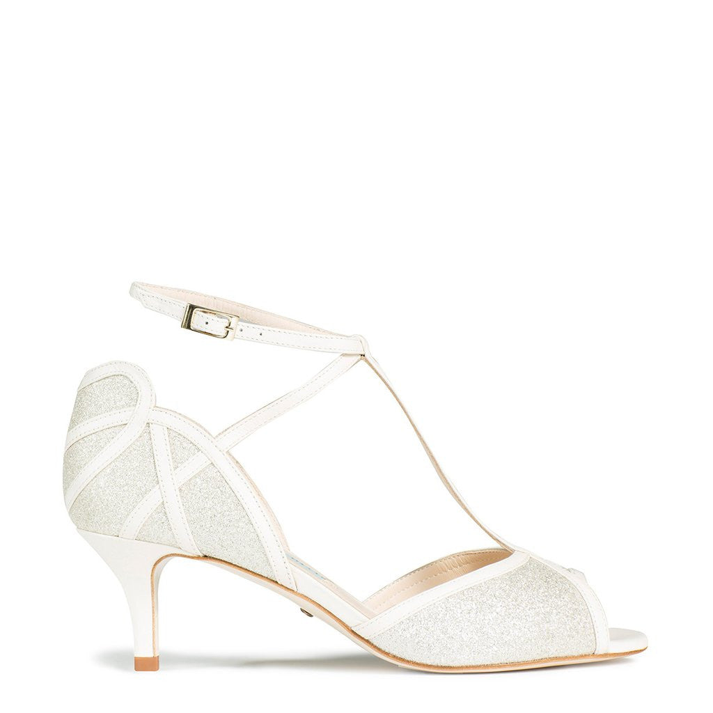 19b98702bb34 Charlotte Mills - Cora - Leather Wedding Shoes ...