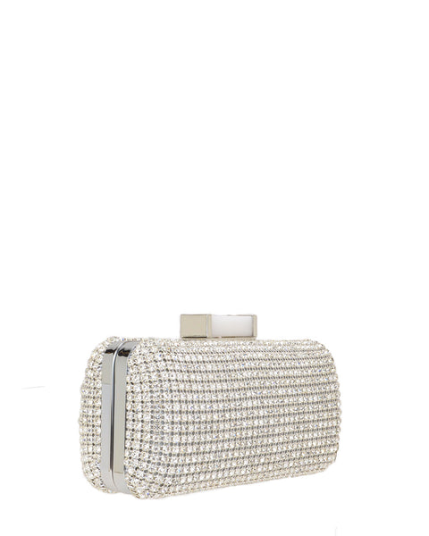 Badgley Mischka Australia - Badgley Mischka Bridal Bags - Cusp Silver