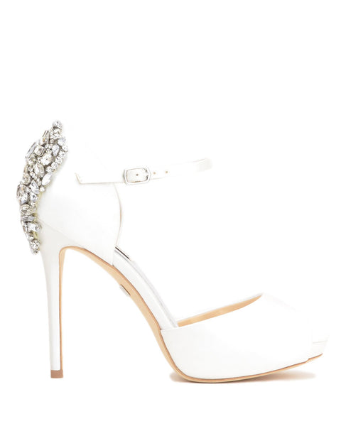 Badgley Mischka Sydney - Dawn - White - Wedding Shoes