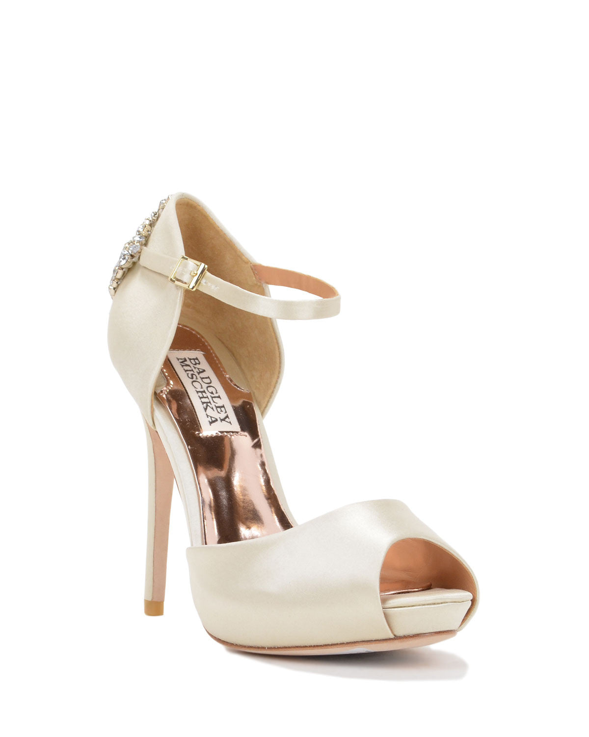 Badgley Mischka - Gene - Ivory - Wedding Shoes Sydney
