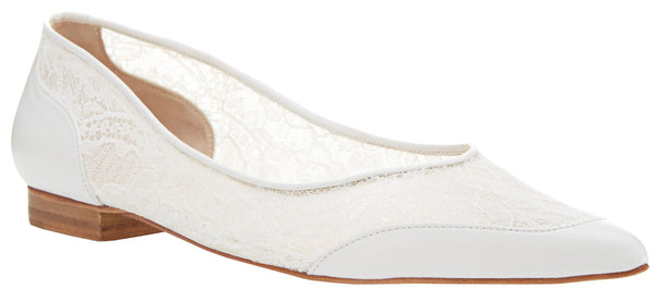 Harriet Wilde - Jasmine - Ivory - LAST PAIR SIZE 7 - Wedding Shoes Sydney