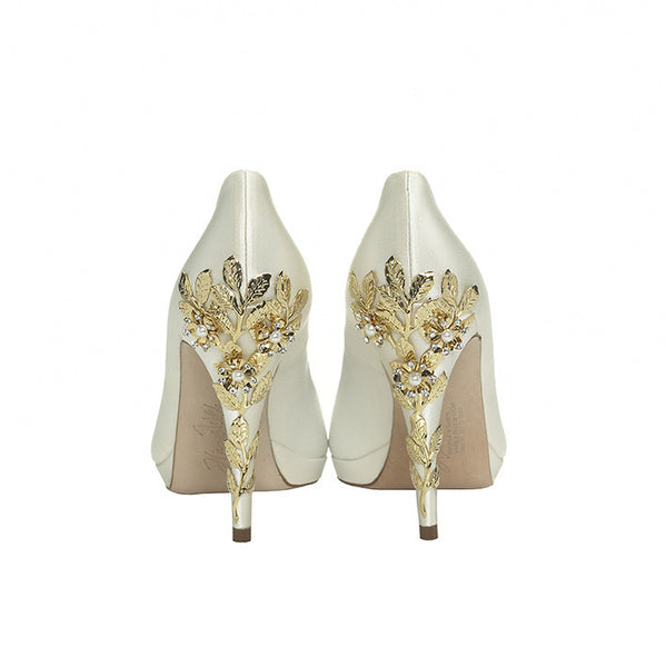 Harriet Wilde - Joanie Platform - Cherry - Bridal Shoes Sydney