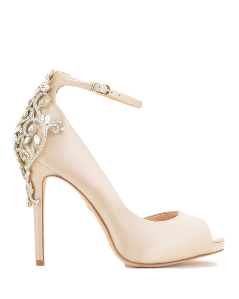 Badgley Mischka - Karson - Nude - Wedding Shoes Melbourne