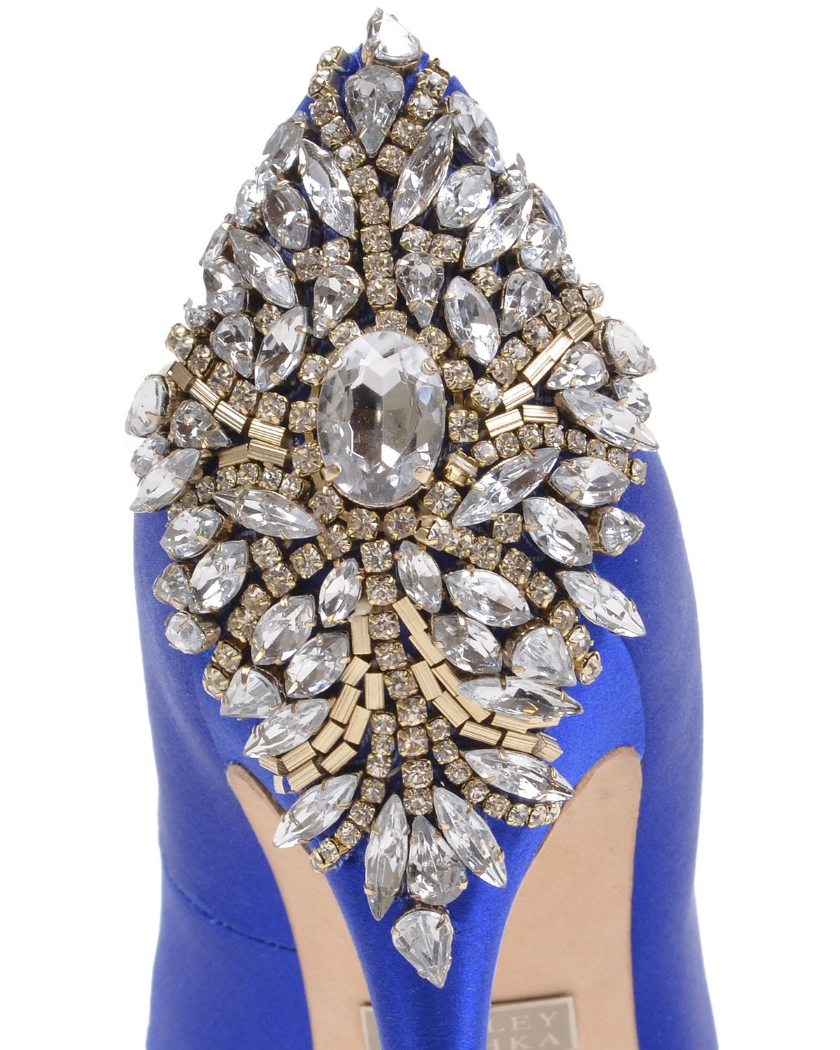 Badgley Mischka Blue Bridal Shoes - Kiara - Sapphire