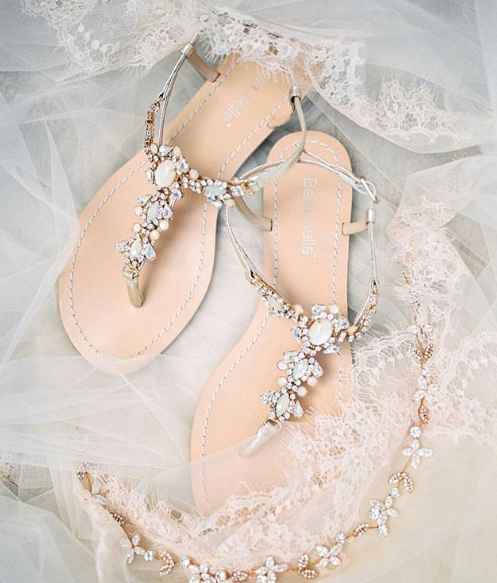 Luna - Crystal Jewel Sandal
