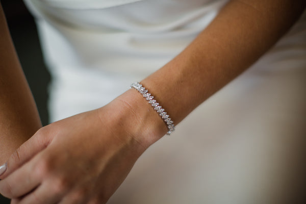 Madison - Single Row Marquise Bracelet