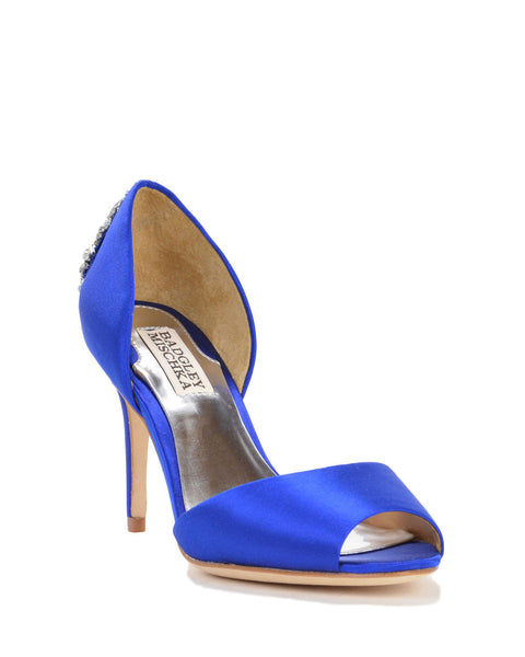 Badgley Mischka Blue Bridal Shoes Sydney - Maxine - Sapphire
