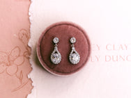 Nova - Tear Drop & Oval Bridal Drops