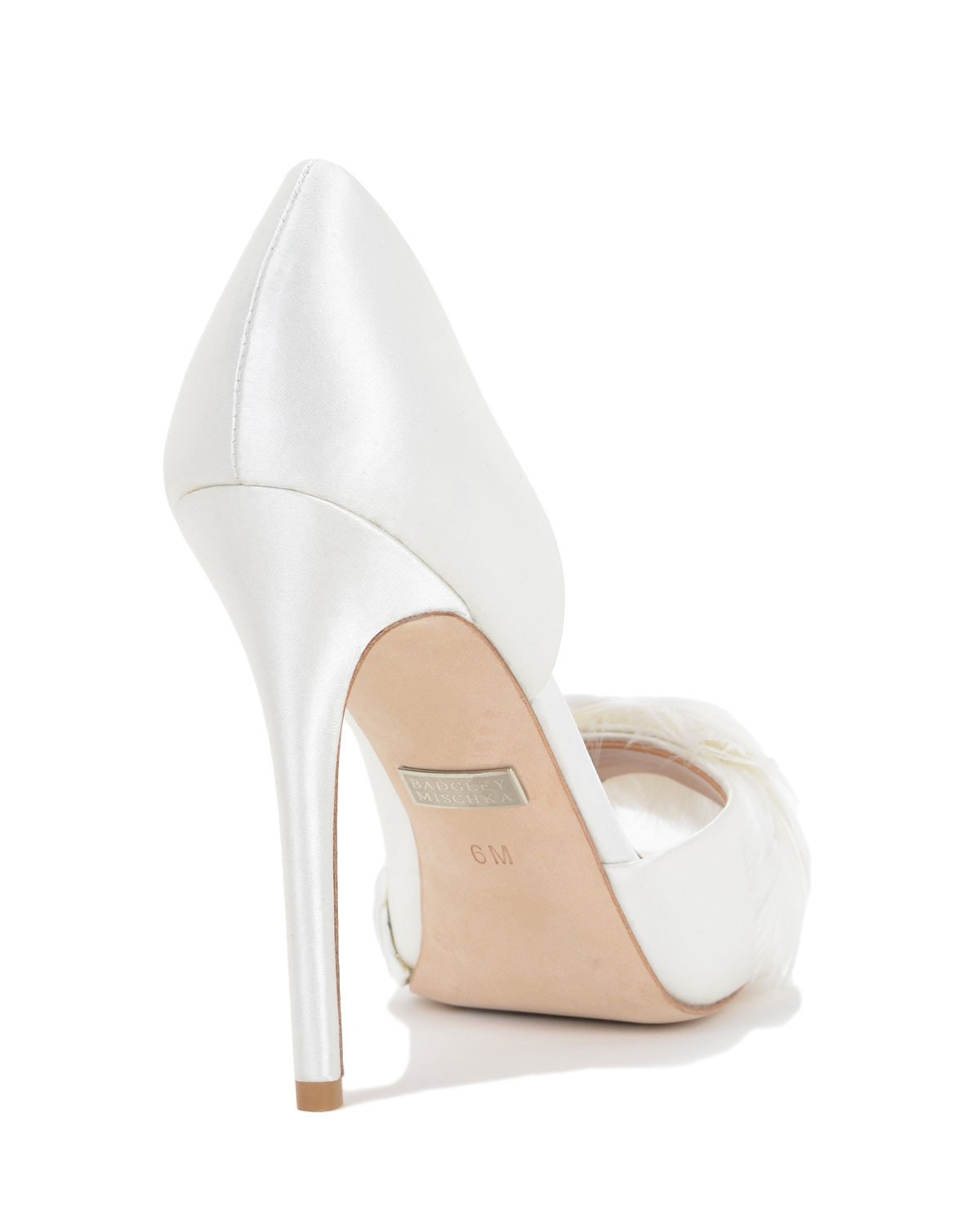 Badgley Mischka Designer Bridal Shoes - Piper - White