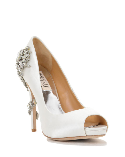 Badgley Mischka - Royal - White - Wedding Shoes Sydney