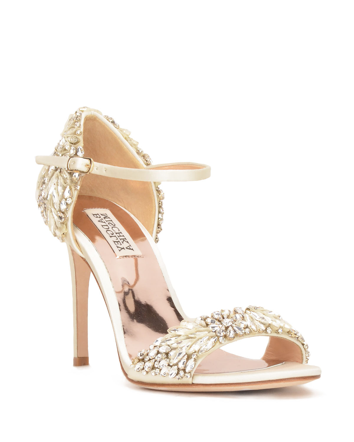 Badgley Mischka Sydney - Bridal Shoes - Tampa - Ivory