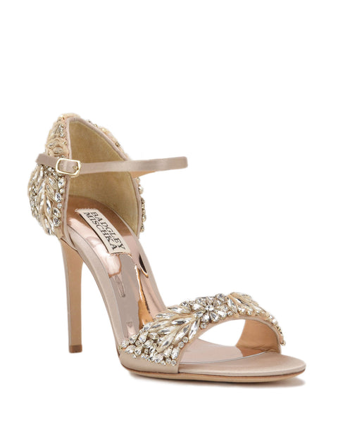 Badgley Mischka Sydney - Bridal Shoes - Tampa - Nude