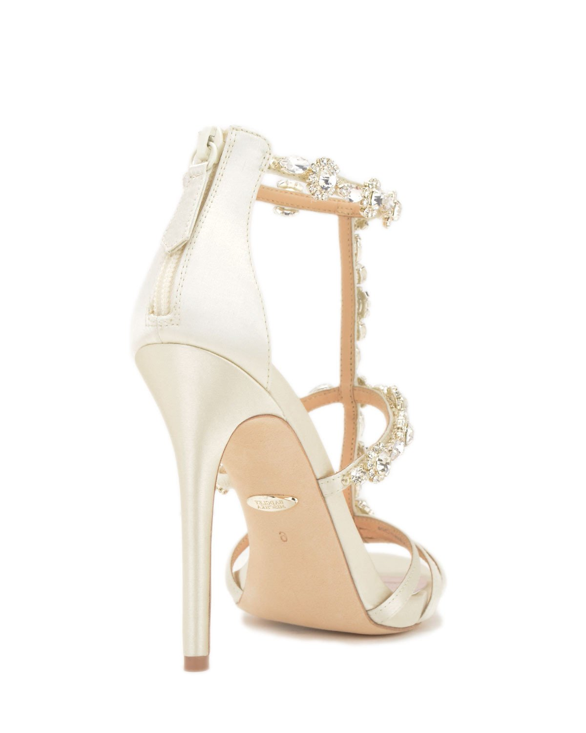 Badgley Mischka Designer Wedding Shoes - Thelma - Ivory