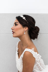 Mia - Statement CZ Bridal Earrings