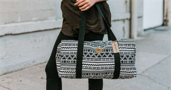 Aztec Tribal Duffel