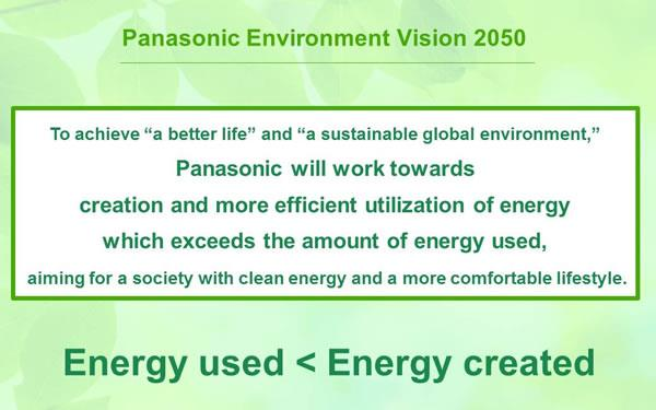 Panasonic green plan
