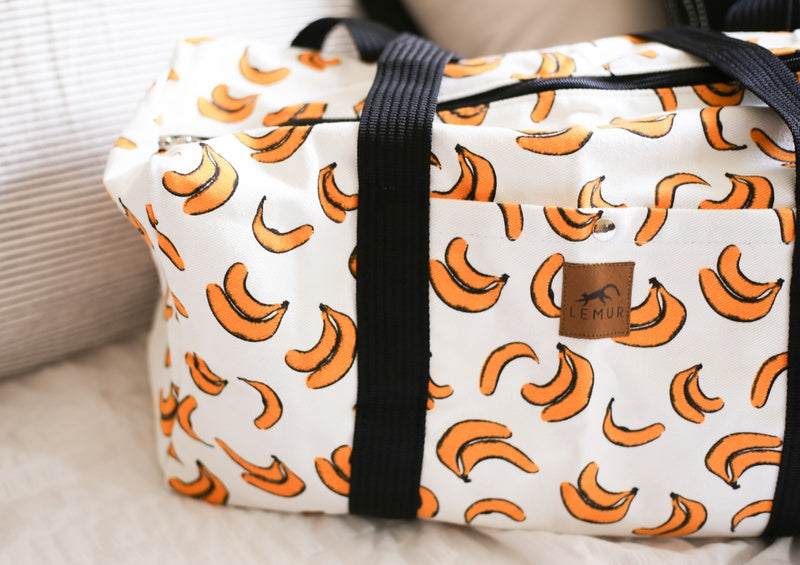 Bananas Canvas Duffle Bag