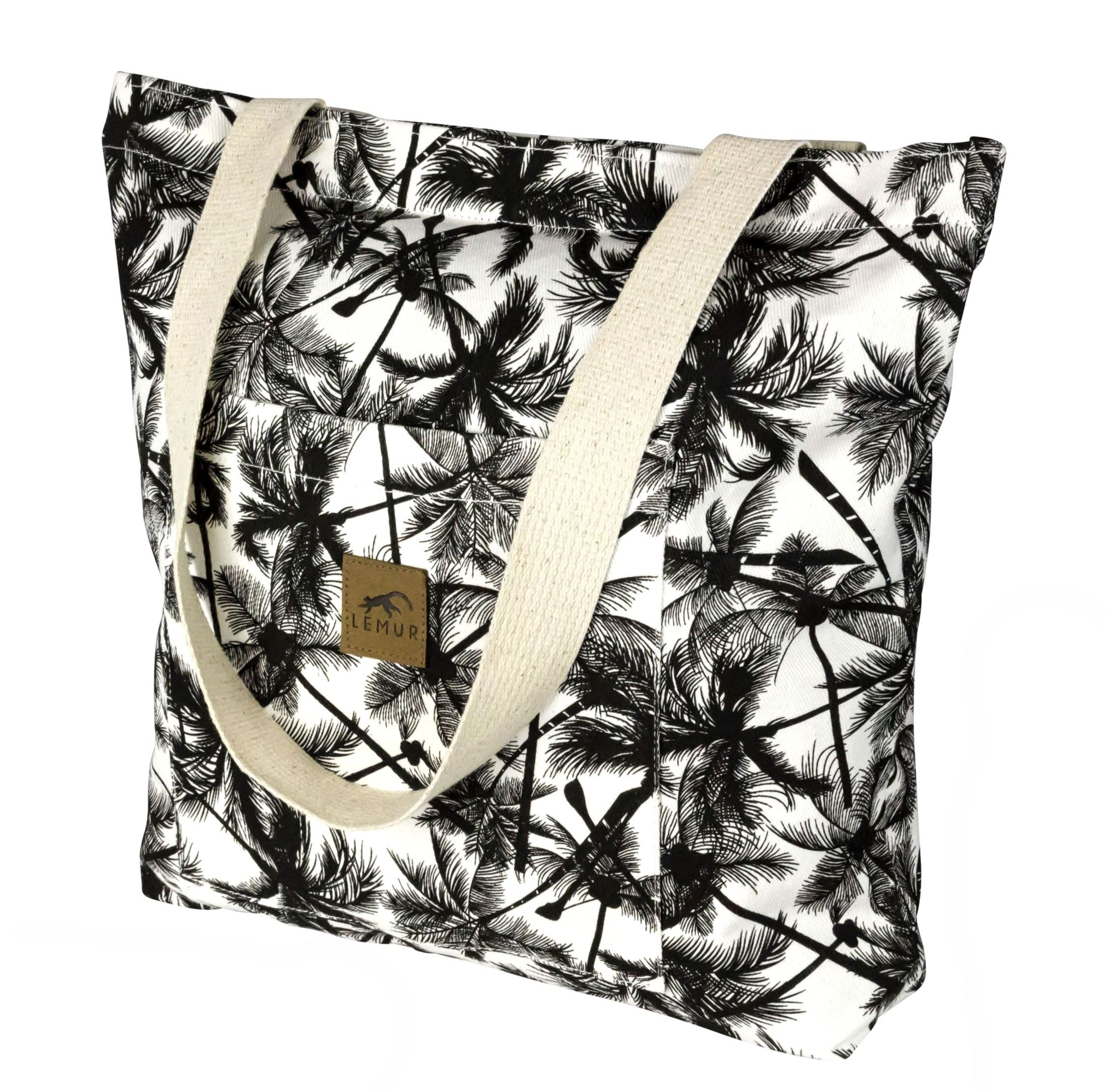 Tropical Palm Shopping Tote Bag
