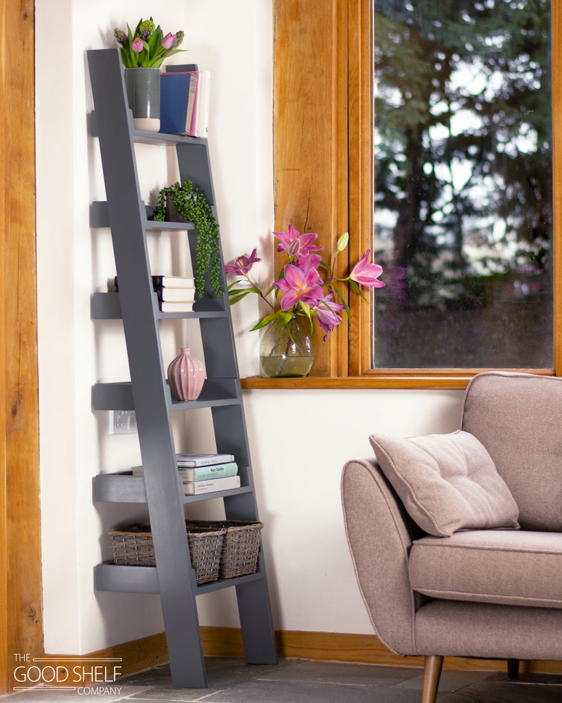 Ladder Bookcase - Down Pipe