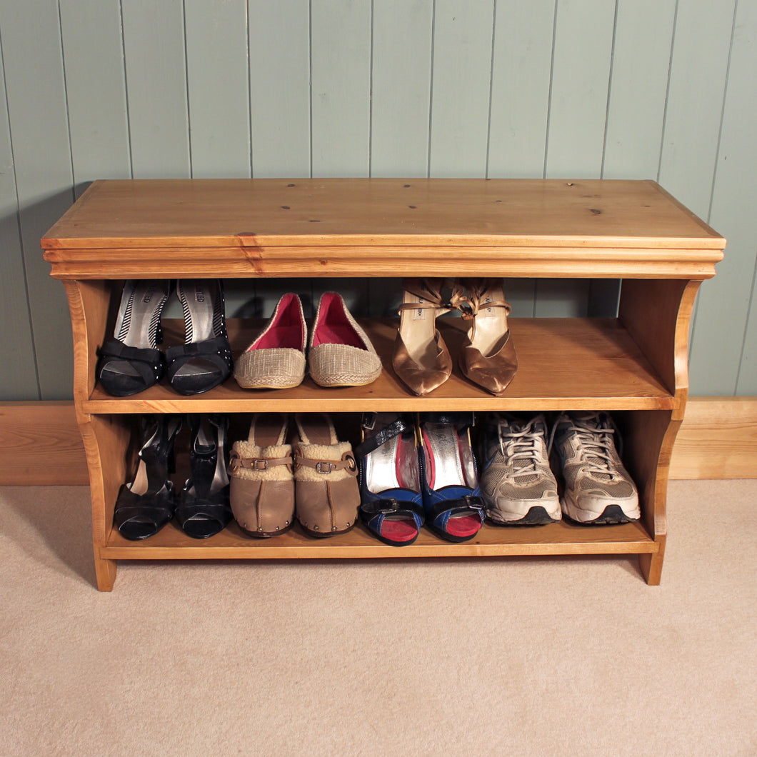 Shoe Bench and Rack