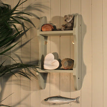 "2 Tier Shabby Chic Deep Shelf - 9"" deep"