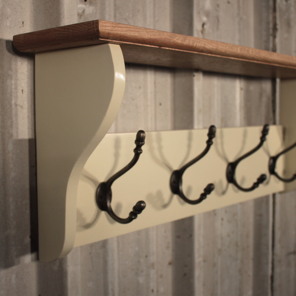 Deep Shelf Pindars Coat Rack