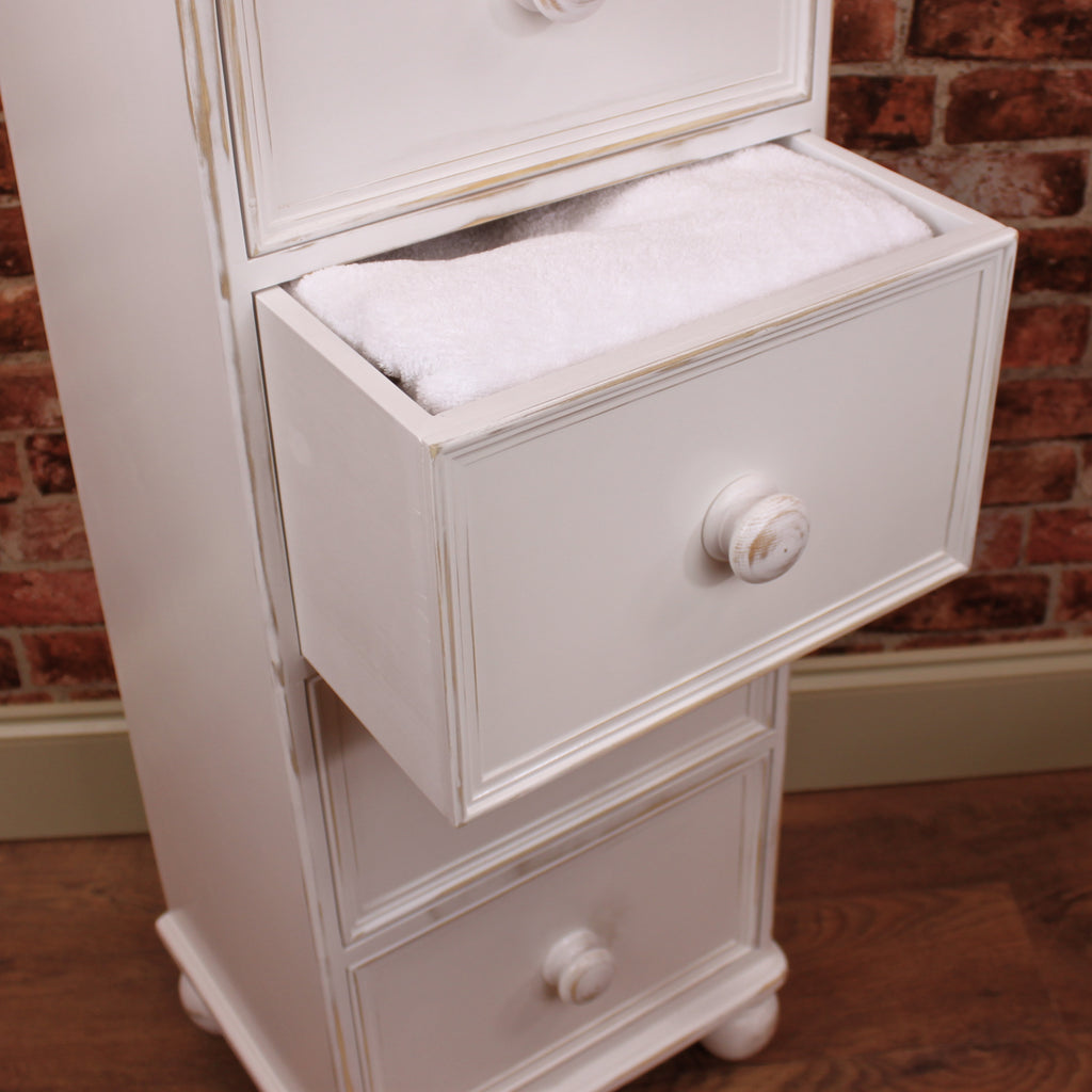 Deep Wellington Chest of 4 Drawers