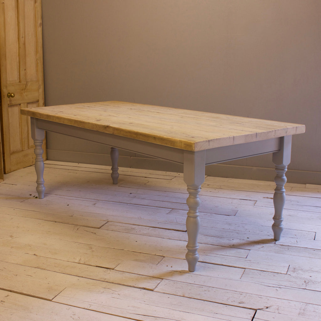 Farmhouse Table made from Reclaimed Timber