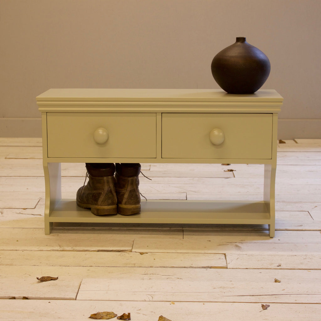 Shoe Bench with 2 Drawers