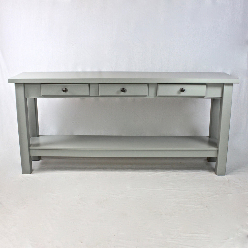 Console Shelf Table