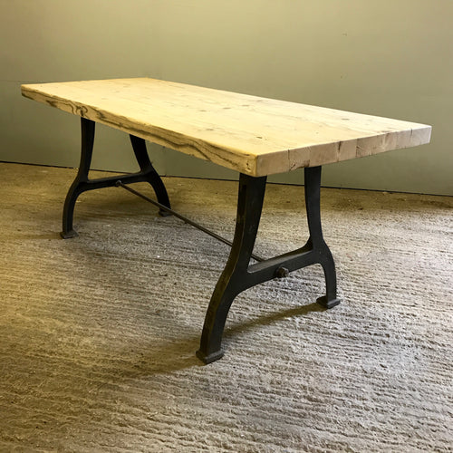 The Millwright's Bench Table