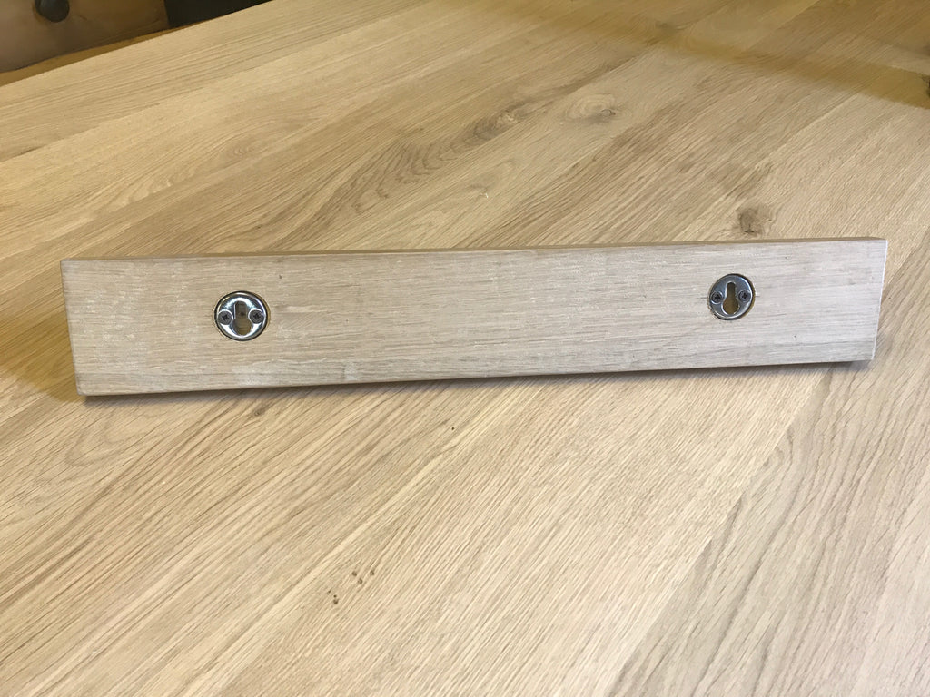 Oak Shaker Peg Rail Coat Rack