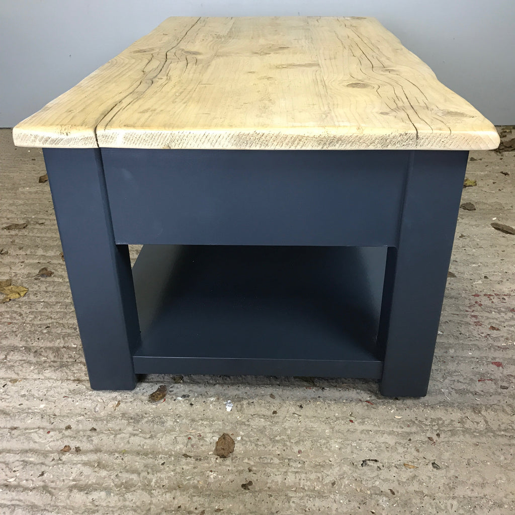 Woodcote Coffee Table with two drawers
