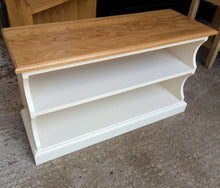 "Pindars Long (48"") Shoe Shelf with a solid Oak top"