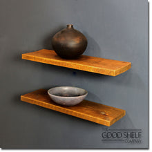 Rustic Timber Floating Shelf - 3.2cm Thick