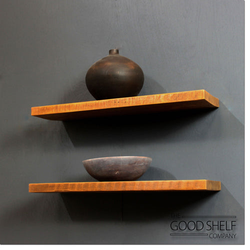 Reclaimed Timber Floating Shelf