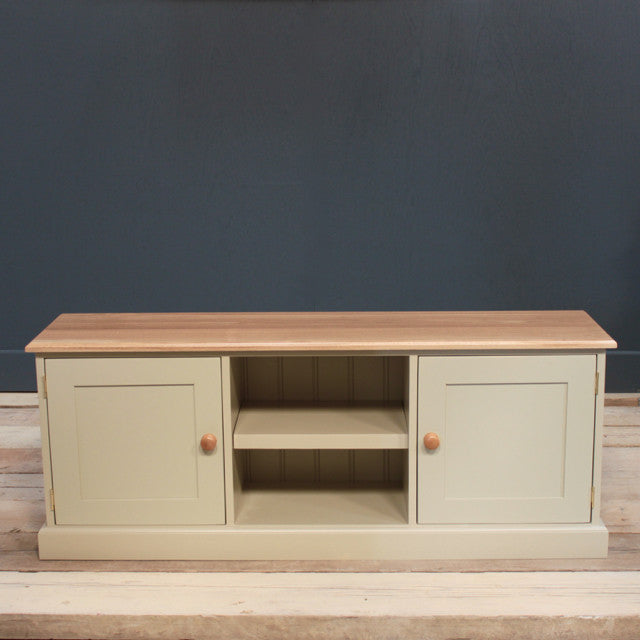 Pindars Potboard Cupboard with Solid Oak Top