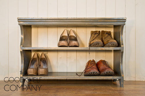 Shoe Bench - Vintage Grey