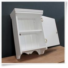 Small Bathroom Wall Cabinet - solid door