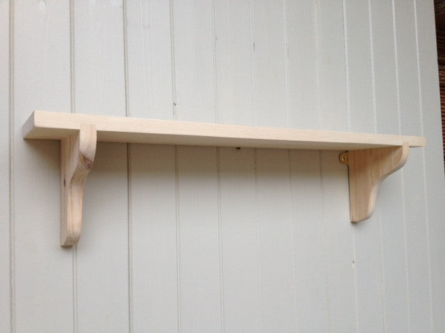 Deep Wall Shelf - 9""