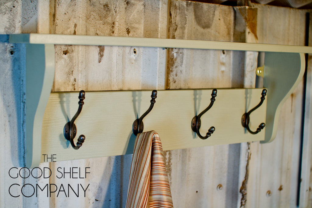 The Original Hat & Coat Rack with Shelf