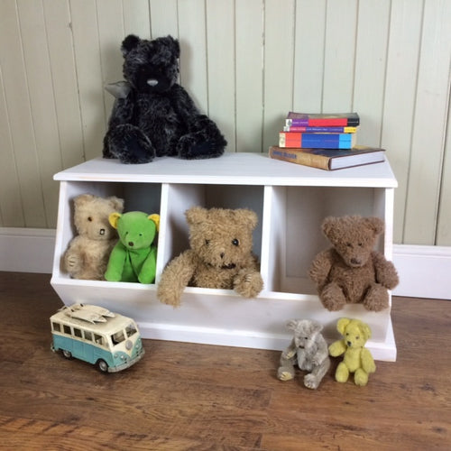 Triple Cubby Storage Unit, Stackable too!