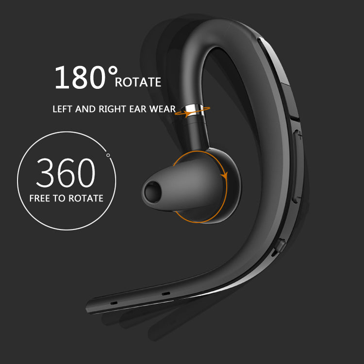 drive noise canceling handsfree business wireless bluetooth headphone with mic. Black Bedroom Furniture Sets. Home Design Ideas