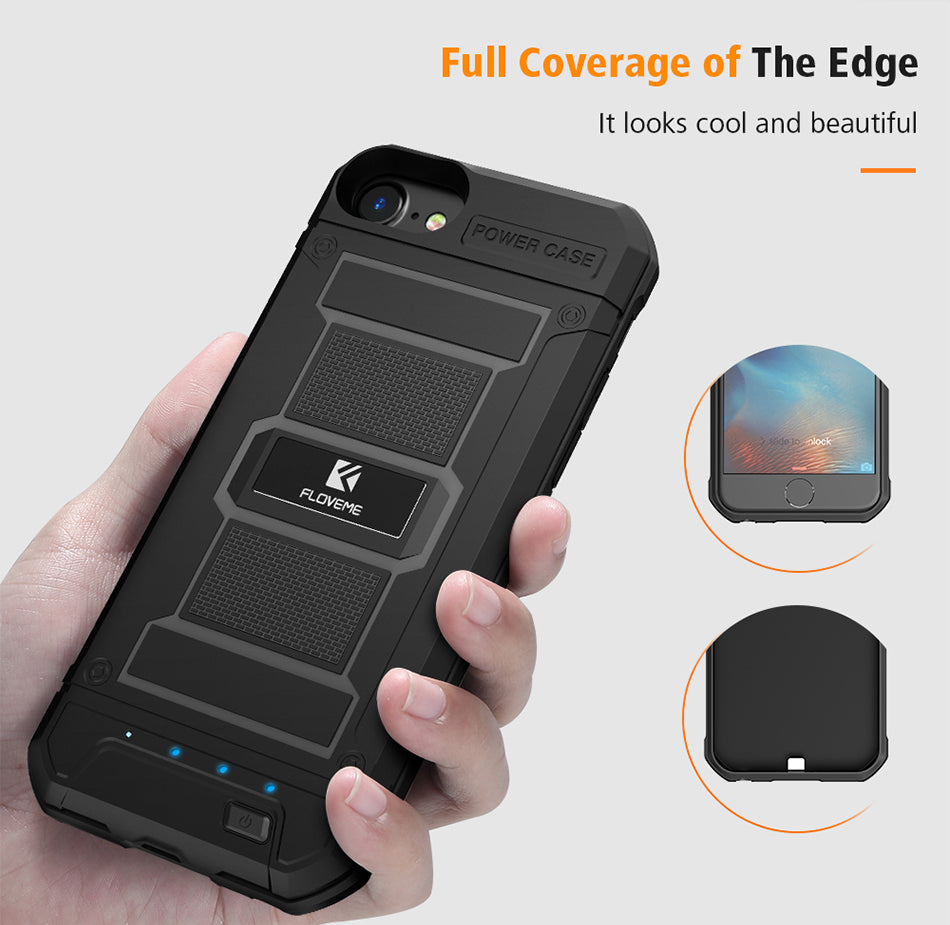 New Clip On Battery Phone Case For Iphone Circuit Mobile Charger Short Full Protection Charge Volume Will Automatically Stop Temperature Overheating Charging