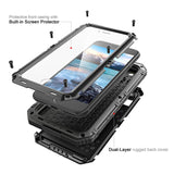 Waterproof Protective Cover Metal Aluminum Armor Phone Case - Phone case - Youngerfan