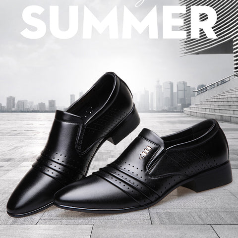 Fashion Business Dress Shoes Leather Loafers