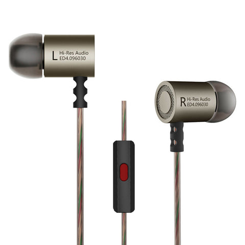 KZ ED4 Wire Earphones - Headphones & Earphones - Youngerfan
