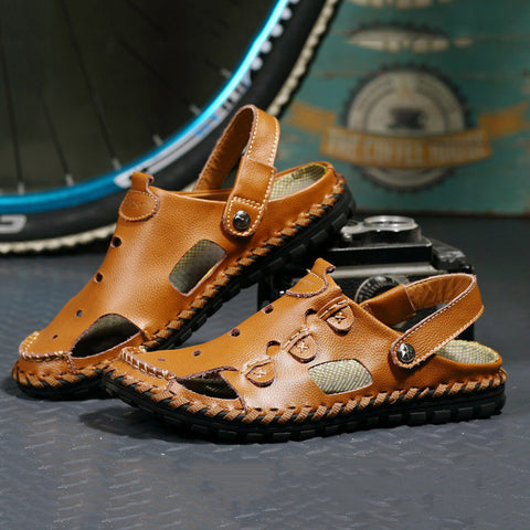Men Sandals Handmade Soft Leather Sandals